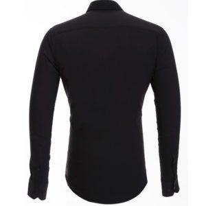 Сорочка мужская черная Patrikman